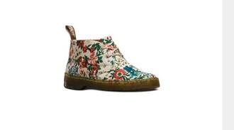 shoes drmartens hipster grunge dr martens summer flowers floral