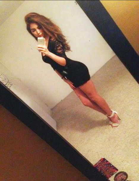 dress black dress short