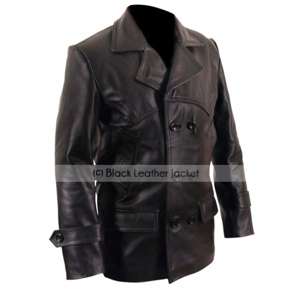 9th doctor leather jacket