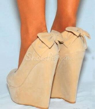 shoes wedges nude nude wedges bow bow back nude shoes bow wedges bow shoes