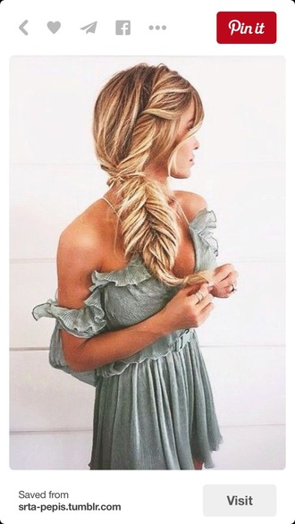 dress grey loose off the shoulder short off the shoulder dress flowy dress