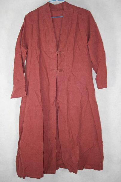 coat brick red coat