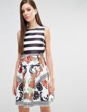 dress,colorblock,striped dress,graduation dress,floral dress