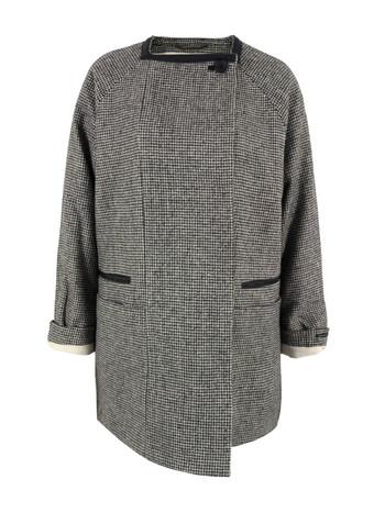 Maison scotch 10778 grey coat  at coggles.com online store