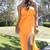 Neon Tube Maxi Dress | Obsezz