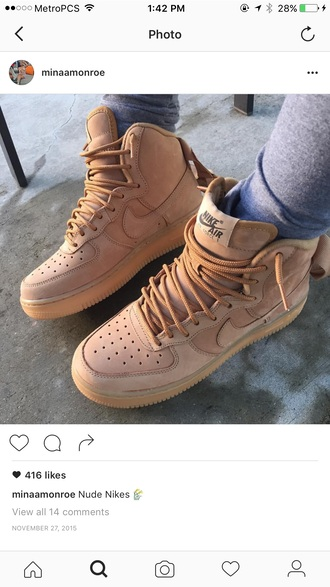 shoes nike air force 1 nike sneakers high top sneakers