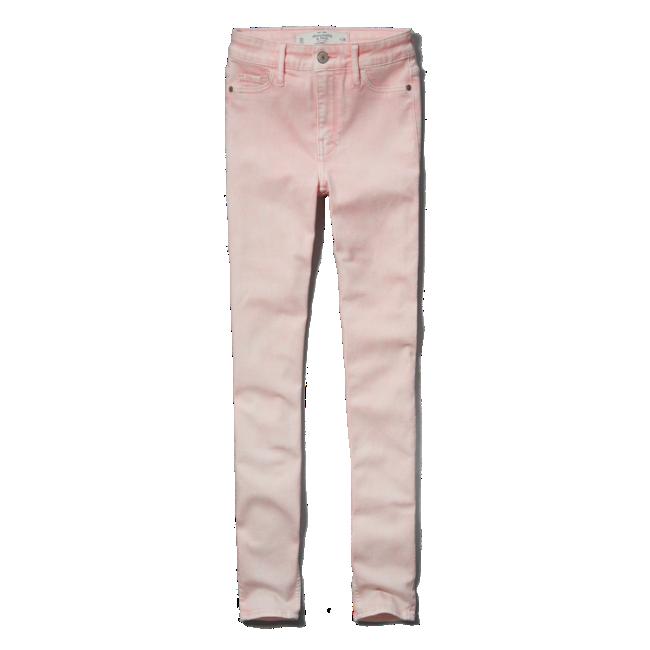 A&f alyssa super skinny high rise jeans