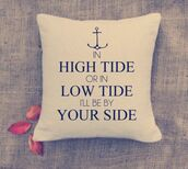 home accessory,love quotes,pillow,valentines day,anchor,quote on it,valentines day gift idea,quote on it pillow,mothers day gift idea,beach house,sailor