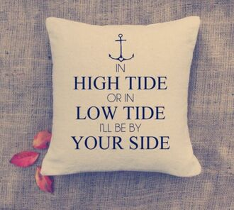 home accessory love quotes pillow valentines day anchor quote on it valentines day gift idea quote on it pillow mothers day gift idea beach house