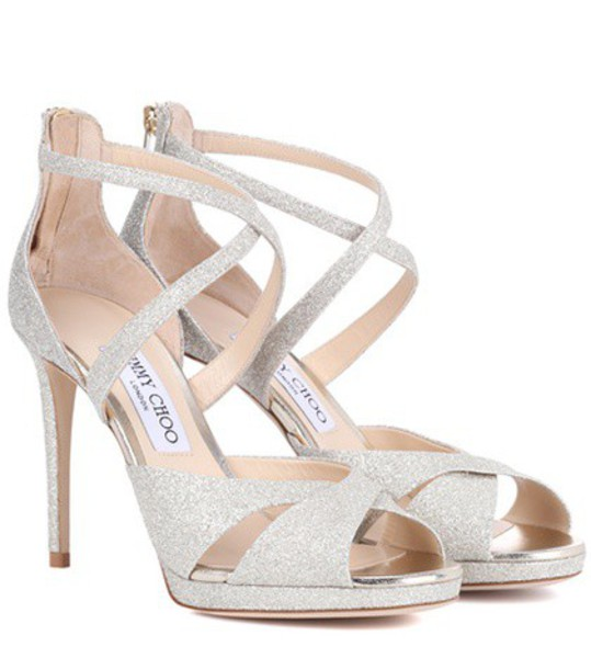 glitter 100 sandals gold shoes