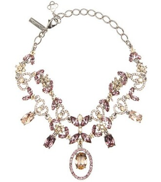 embellished necklace jewels
