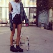 shorts,pants,leather,leather shorts,zip