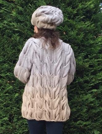 cardigan color knitting