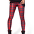 Must-Have Classic Tartan Red Leggings [FBBI00162] - PersunMall.com
