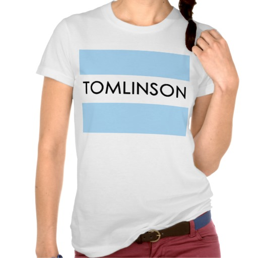 Custom Personalized Tomlinson