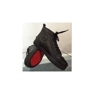 shoes red sole christian louboutins black shoes sneakers black out spiked shoes fancy fashion perfection louboutins shoes high tops leather shoes shoe game christian louboutin sneakers christian louboutin outlet christian louboutin spiked studded louboutins high tops