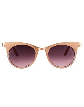 ASOS | Gafas de sol ojos de gato con parte superior de metal de ASOS en ASOS