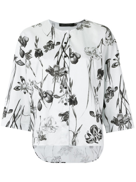 Andrea Marques top printed top women cotton