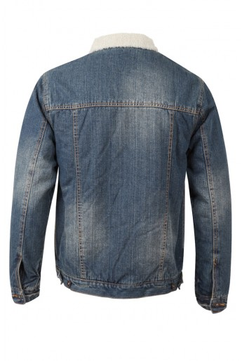 Native Youth Sherpa Denim Ranch Jacket