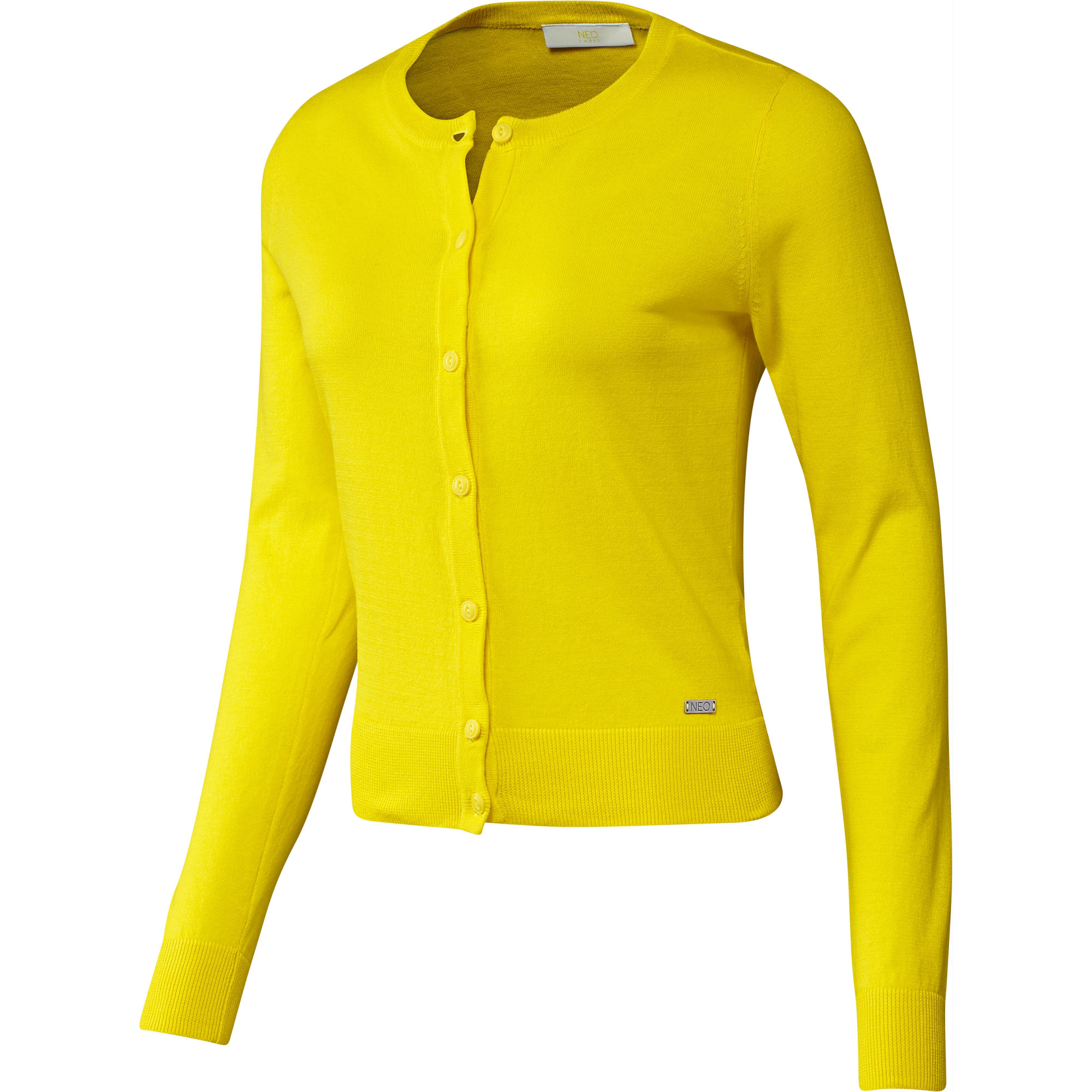adidas neo yellow cardigan
