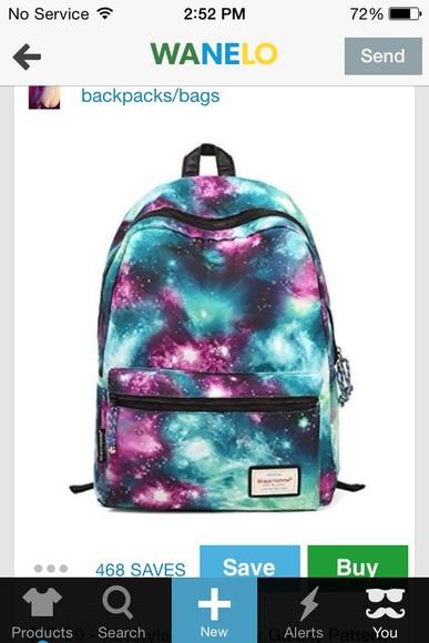 galaxy bag back to school backpack
