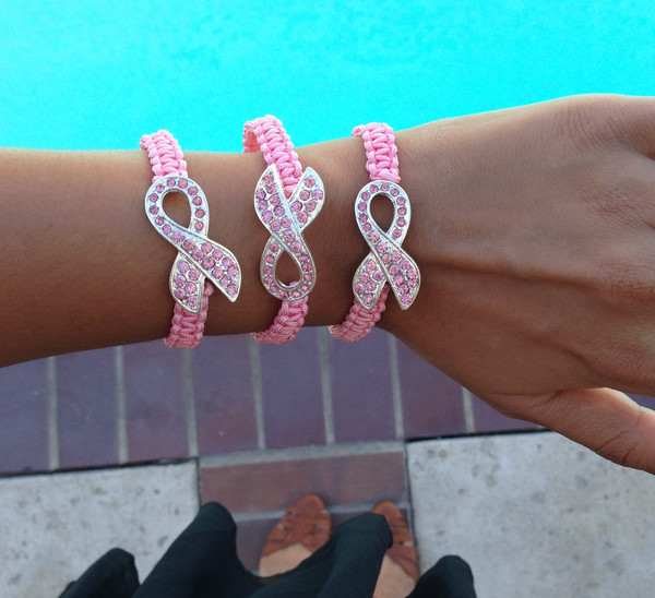 jewels breast cancer bracelets jewelry breast cancer awareness accessories