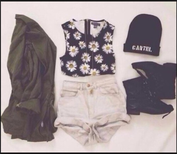 tank top daisy top