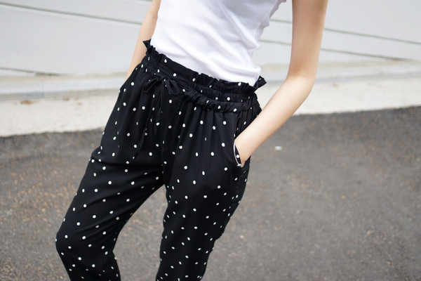 dot pant polka dots pants