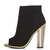 AD-LIB Peep Toe Shoe Boots - Topshop
