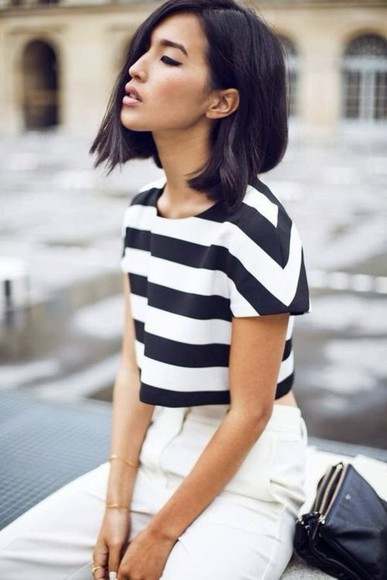 white striped shirt summer outfits top blue stripped top summer top style summer