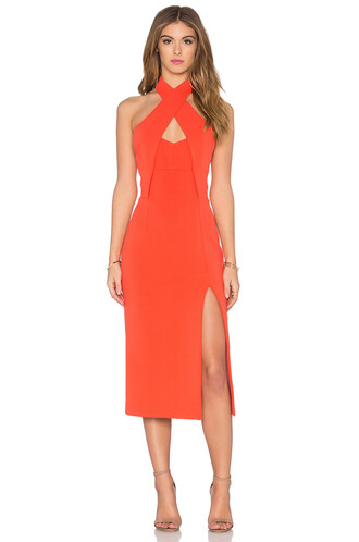 dress bandage orange