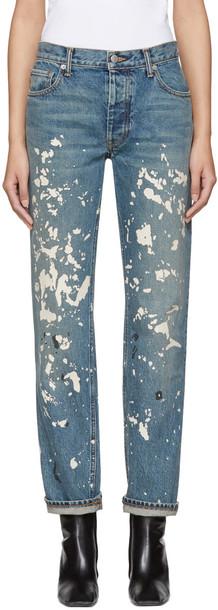 Helmut Lang jeans blue