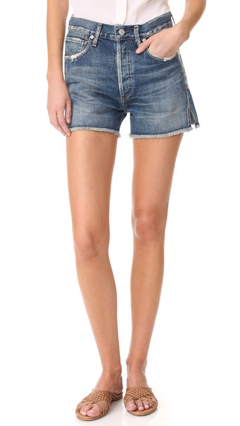 Citizens Of Humanity Alyx Classic High Rise Shorts - Teaser