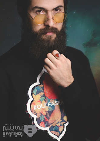 sweater hipster floral old-fashioned sweatshirt sweatshirt with print