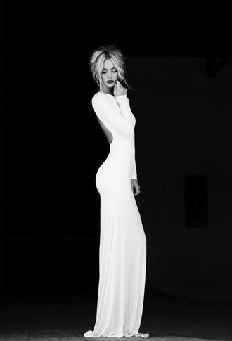 formal white dress formal dress evening white gold dress long elegant evening dress