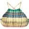 Lygia & nanny - lana bikini top - women - polyamide/spandex/elastane - gg, polyamide/spandex/elastane