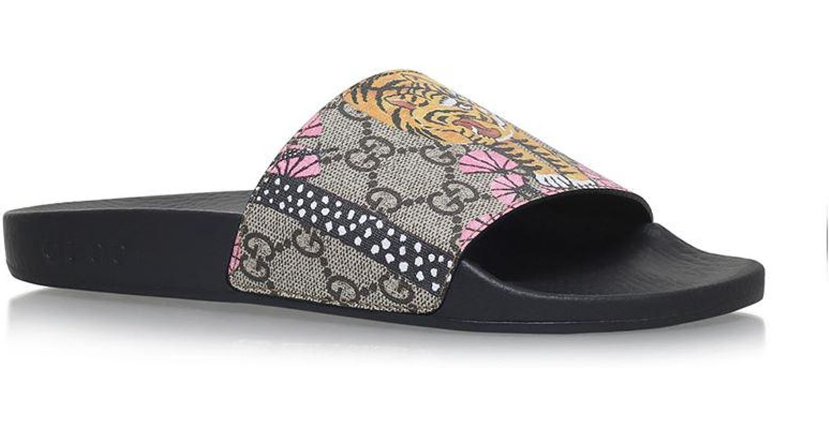 483520ed2 Gucci | Multicolor Pursuit Tiger Slides | Lyst