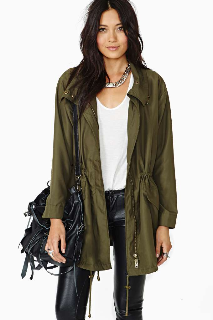 Nasty Gal Fundamental Anorak at Nasty Gal