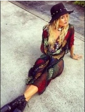 top,rat and boa/urban outfitters,kaftan,hippie,gypsy