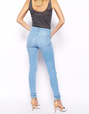 High Waisted Jeans Light Wash | Bbg Clothing