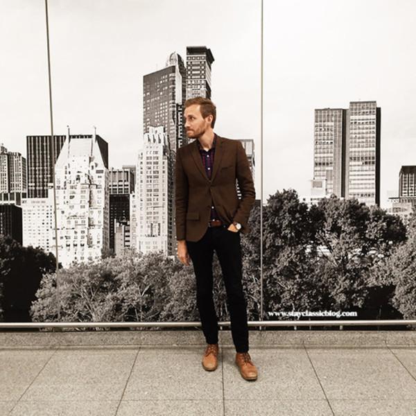 stay classic blogger jacket t-shirt jewels belt shirt shoes