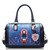 [grxjy5204213]Contrast Color Hollow Out Handbag Shoulder Messenger Bag