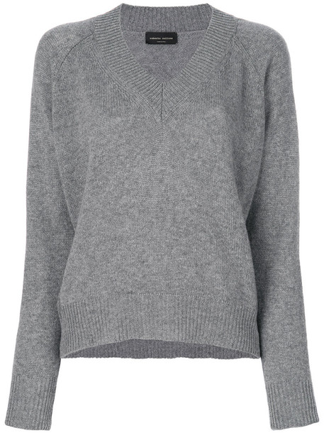 Roberto Collina jumper women grey sweater