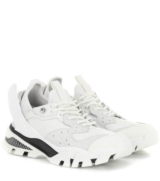 Calvin Klein 205W39NYC Carla leather sneakers in white