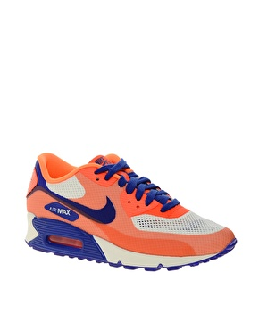 info for 09c70 72de9 Nike | Nike Air Max 90 Hyp Prm Orange Trainers at ASOS