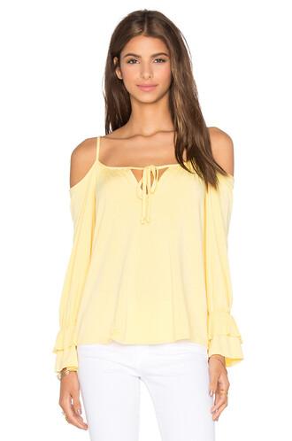 top open yellow