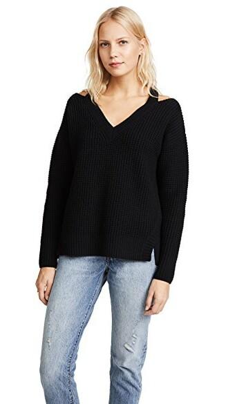 top knit black