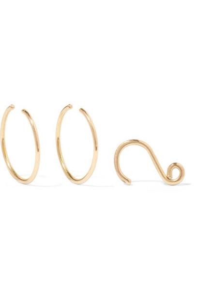 Saskia Diez earrings gold earrings gold jewels