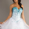 Buy cheap 2014 new arrival homecoming dresses a line sweetheart tulle with colorful rhinestones online cheap prices