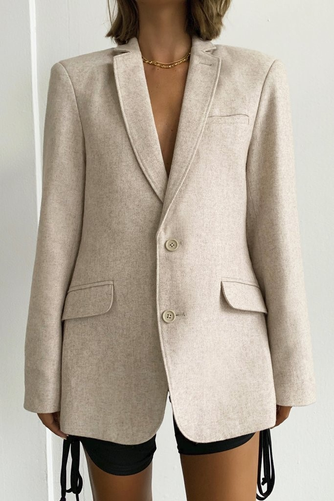FRANCISCO WOOL BLAZER
